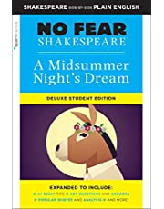 Midsummer Night's Dream: No Fear Shakespeare Deluxe Student Edition (Volume 29)