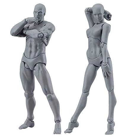 Sunnymi Artistes Action Figure Modèle Humain Mannequin Homme Femme