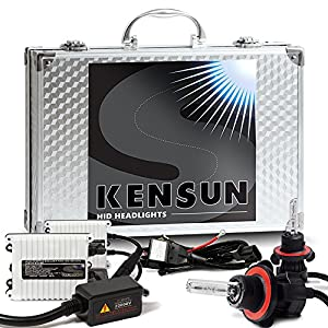 "55w Kensun HID Xenon Conversion Kit ""All Bulb Sizes and Colors"" with Digital Ballasts - H13 (9008) Bi-Xenon - 6000k"