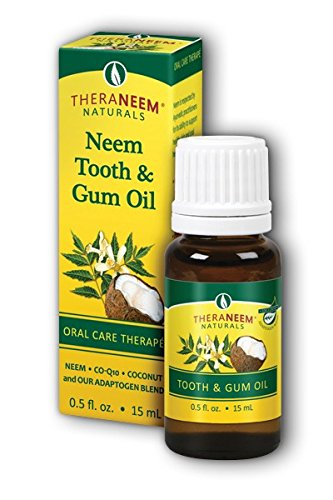 Organix South - TheraNeem Naturals Neem Tooth & Gum Oil - 0.5 oz.