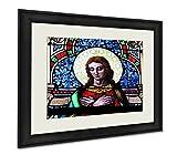 Ashley Framed Prints Holy Image, Wall Art Home Decoration, Color, 26x30 (frame size), AG6093352