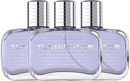 LR Terminator Eau de Parfum para hombre, 3 x 50 ml: Amazon.es: Belleza