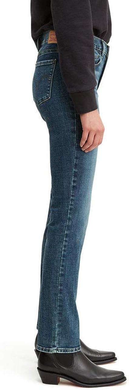 Details about  /Levi's Women 505 Jeans Mid Rise Straight Leg Black Pick Your Size