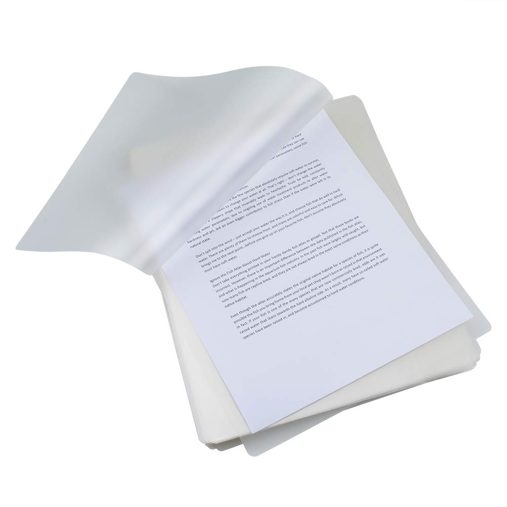 RBHK Thermal Laminating Pouches, 8.9 x 11.4 -inches, 3 mil Thick (100 Pack)