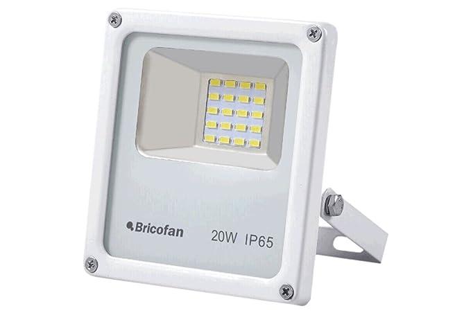 Cofan Proyector Compacto E27, 20 W, Blanco: Amazon.es: Iluminación