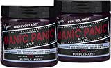 "Manic Panic Semi-Permanent Hair Color Cream - Purple Haze 4oz""Pack of 2"""