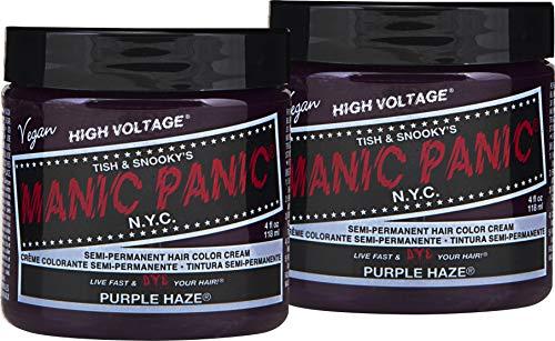 (Manic Panic Purple Haze Purple Hair Dye Color 2pk)