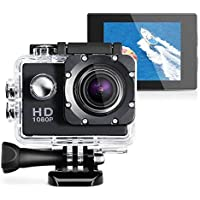 Ultra HD 1080P Waterproof 2.0 Action Camcorder Sports DV Camera Go Car Cam Pro (Black)