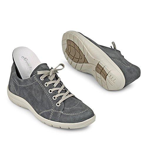 À 071 Chaussures Femmes Michelle M8505042071 Gris Lacets Semler jeans tqI4Fq