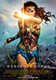 Wonder Woman Poster Borderless Vibrant Premium Glossy Movie Poster Various Sizes (A3 Size 16.5 x 11.7 Inch / 420 x 297 mm)