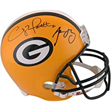 Clay Mathews & Aaron Rodgers Green Bay Packers Autographed Replica Helmet - Fanatics Authentic Certified