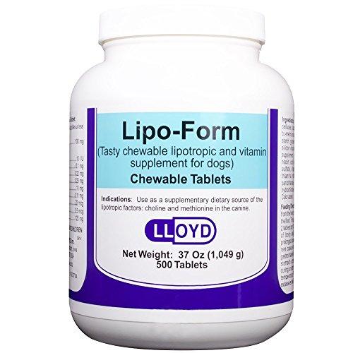Pet Tablets Form 500 - Lipoform (500 Tablets)