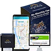 #LightningDeal GPS Tracker Vyncs No Monthly Fee OBD, Real Time 3G Car GPS Tracking Trips Free 1 Year Data Plan Teen Unsafe Driving Alert Engine Data Fleet Monitoring Fuel Report Optional Roadside