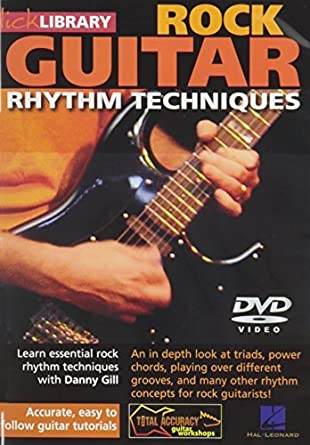 Rock Rhythm Techniques For Guitar by Danny Gill: Amazon.es: Danny ...