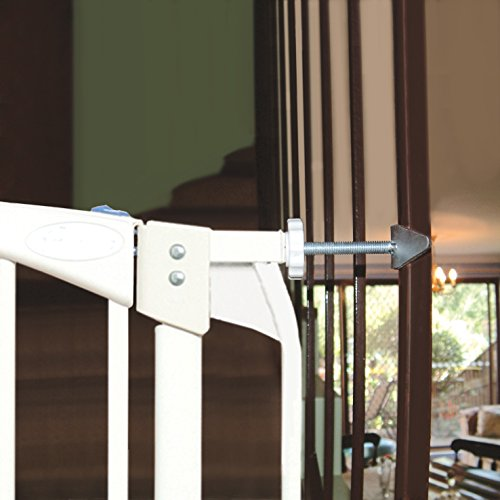 Rail Gate - Dreambaby Banister Gate Adaptors, Silver