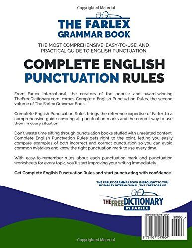 Complete English Punctuation Rules: Perfect Your Punctuation and ...