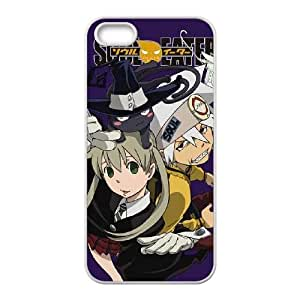 Soul Eater Purple iPhone 4 4s Cell Phone Case White phone component RT_395487