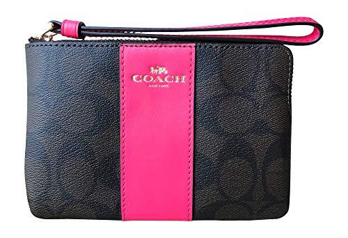 Pink Coach Handbag - 4