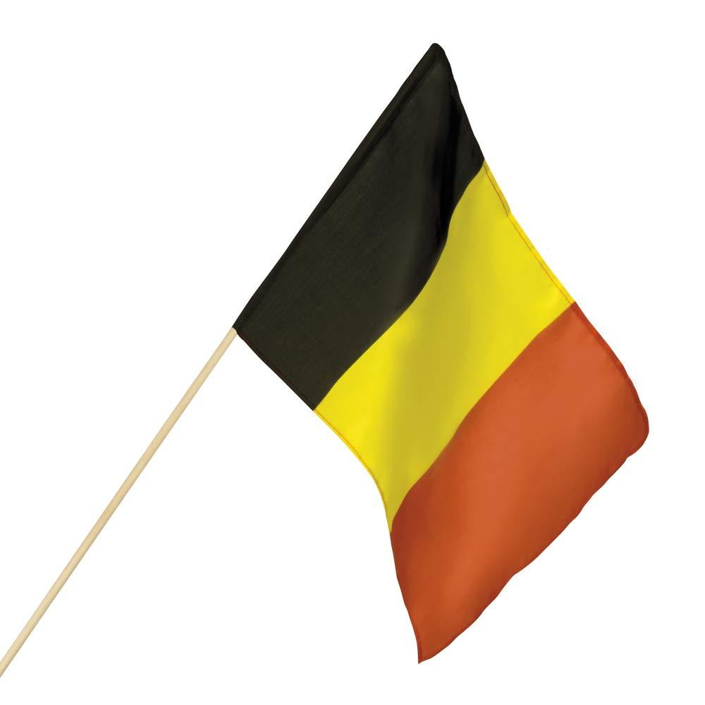 D/écoration pour f/ête /à th/ème EM WM Eurovision Song Contest Nation serpentins avec drapeau Kit de d/écoration 66 pi/èces * Belgique * pour une f/ête de pays ballons drapeau cha/îne de fanions