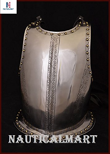 NAUTICALMART Plate Armour Medieval Breastplate