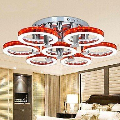 DXZMBDM® Kronleuchter - LED/Inklusive Glühbirne - Zeitgenössisch/Traditionell-Klassisch - Wohnzimmer/Schlafzimmer/Esszimmer/Studierzimmer/Büro/Korridor , White-90-240V