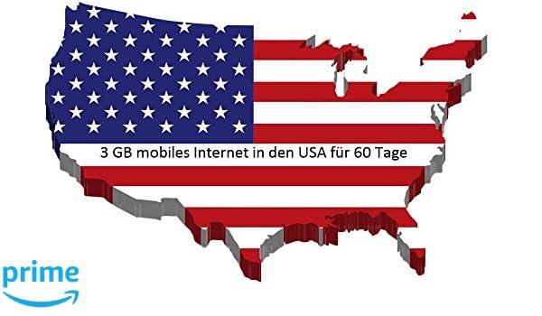 60 días Prepaid SIM tarjeta para Estados Unidos, puerto Rico ...