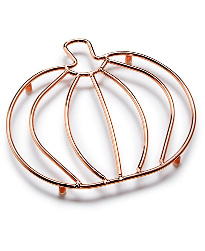 Martha Stewart Collection's Pumpkin Copper-Wire Trivet