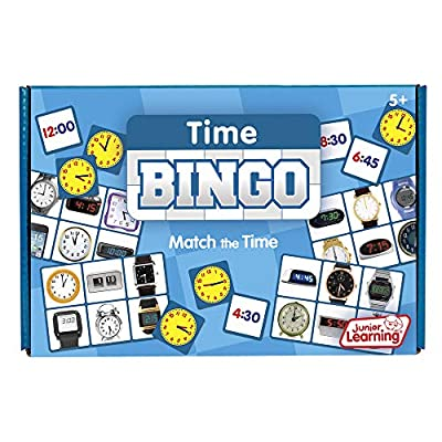 Junior Learning Time Bingo Educational Action Games: Toys & Games