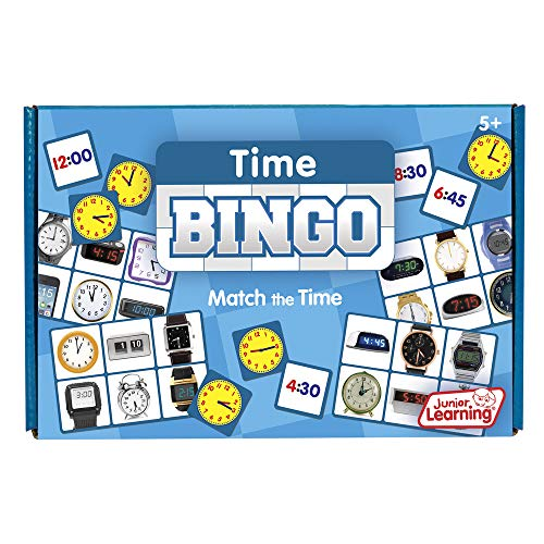 Junior Learning Time Bingo Educational Action Games