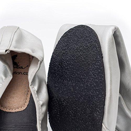 Ballerine Pieghevoli Ballerine pi in Scarpe Pieghevoli Mettere Donna Scarpe da Borsetta Scarpe da CatMotion Scarpe Tasca 1azZUa8