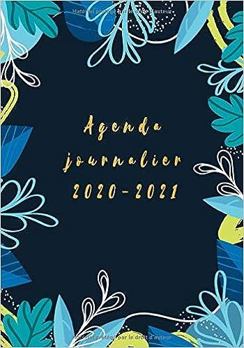 Calendrier Journalier 2021 Agenda journalier 2020 2021: agende 2020 2021, calendrier 2020 +