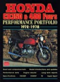 Honda CB350 and 400 Fours, 1972-1978, R. M. Clarke, 1855204150
