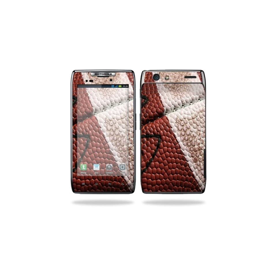 Protective Vinyl Skin Decal Cover for Motorola Droid Razr Android Smart Cell Phone Sticker Skins   Football