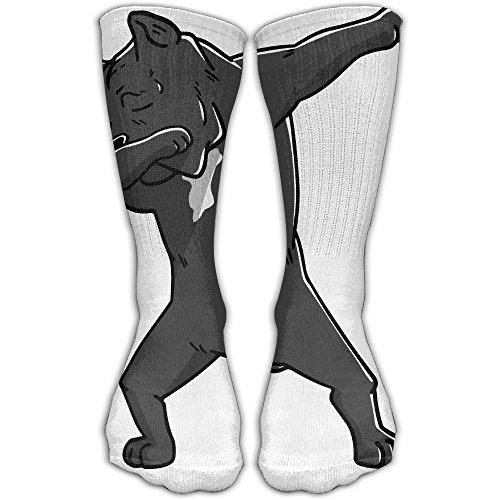 Funny Dabbing Cane Corso Dog Personalized Socks Sport Athletic Stockings 30cm Long Sock For Men Women