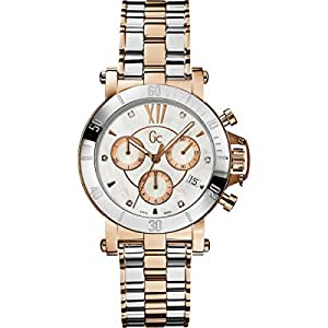 Amazon.com: GUESS GC Femme Silver and Rose Gold-Tone with ...