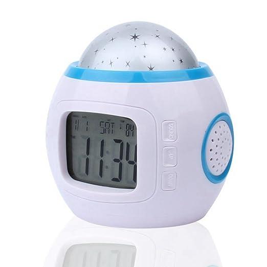 Reloj despertador de TGLOE electrónico para niños con diseño de ...