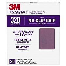 "3m 26320cp-P-G 9"" X 11"" 320 Grit Professional Grade Sandpaper"