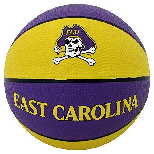 East Carolina Pirates Mini Rubber Basketball