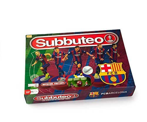 Subbuteo Barcelona Main Game - Paul Lamond Official Edition by Premier Life Store by Premier Life Store