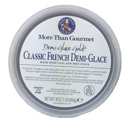 More Than Gourmet Demi-glace Gold French Demi-glace, 16-Ounce Unit Sauce Concentrate
