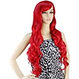 AGPtek 33 inch Heat Resistant Curly Wavy Long Cosplay Wigs 5 Color