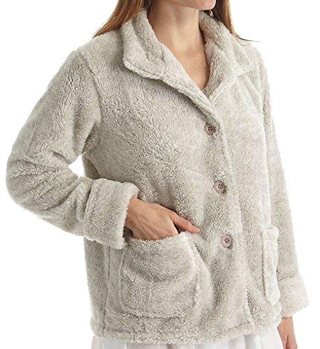 La Cera 100% Polyester Fleece Jacket (8826) 3X/Taupe