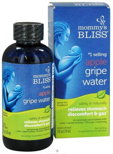 Mommy's Bliss Apple Gripe Water 4 oz. bottle