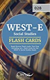 img - for WEST-E Social Studies Rapid Review Flash Cards: Test Prep Including 350+ Flash Cards for the WEST-E Social Studies Exam book / textbook / text book