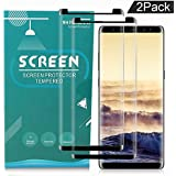 Galaxy Note 8 Screen Protector, Zebre Samsung Galaxy Note 8 Tempered Glass 3D Screen Protector, 9H Hardness, Bubble Free, Anti-Fingerprint HD Screen Protector Film[2 Pack]