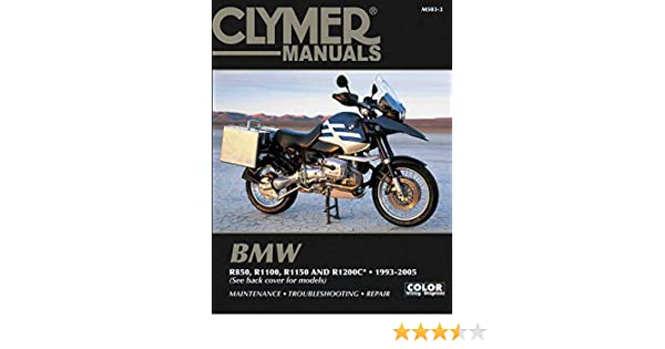 2000-2005 BMW R1150GS/Adventure Repair Manual Clymer M503-3 ... on
