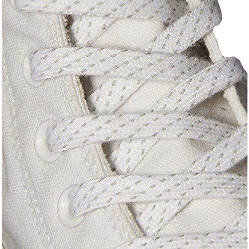 High 153792c Converse Chuck Bianco Black white lava Sneaker 7qBRwqS