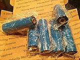 4.33' x 244' Thermal Transfer Ribbon - 6 Rolls. Resin Enhanced Wax for Zebra Eltron Datamax Zebra GC420t GK420t GX420t TLP2442 TLP2844