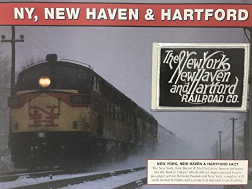 NY New Haven & Hartford Willabee & Ward Great American Railroads Emblem Patch Card