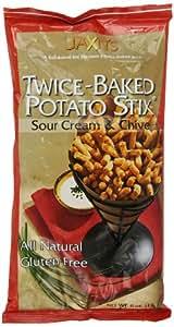Jaxn's Potato Stix, Sour Cream and Chive, 6 Ounce